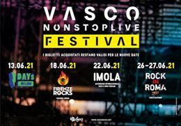 Biglietti Vasco Rossi 2020 / 2021: Firenze Roma Milano