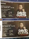 Biglietti concerto David Guetta 1 dicembre