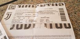 Biglietti Tribuna Juve Milan posti vicini settore 115