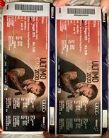 Nr.2 biglietti concerto ULTIMO