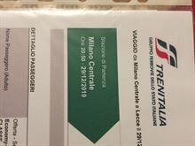 Biglietti Treno corsa Milano-Lecce e viceversa