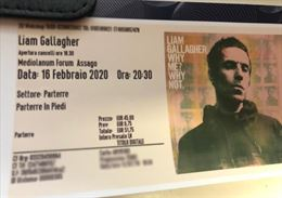 Liam Gallagher Milano - 16/02 Parterre