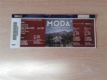 Due biglietti parterre concerto Modà bari