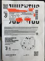 3 biglietti tribuna sud Juve Milan coppa italia