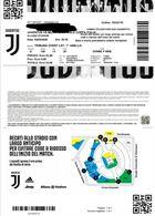 2 biglietti Juventus - Milan 04/03