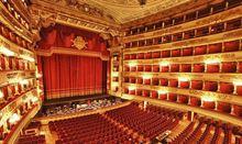 Opera Tosca alla Scala di Milano