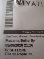 Biglietti 66° Festival di Puccini