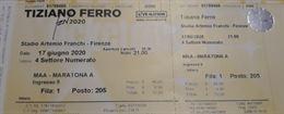 Concerto Tiziano Ferro Firenze - TZN 2020