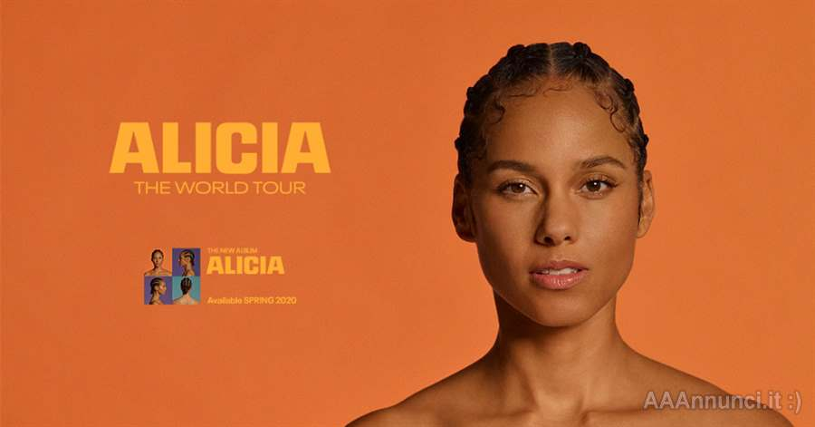 Alicia Keys The World Tour